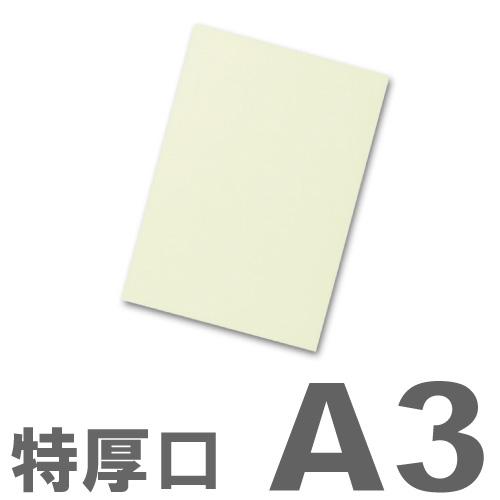 大王製紙 カラーコピー用紙 再生色上質紙(国産紙) 特厚口 A3 うぐいす 250枚