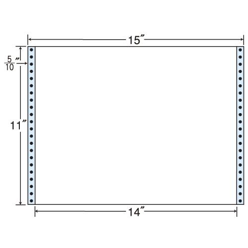 東洋印刷 タックシール nana レギュラータイプ (連続ラベル) 500折 MT15G