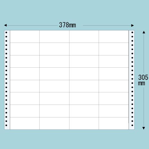 東洋印刷 タックシール nana レギュラータイプ (連続ラベル) 500折 MT14P