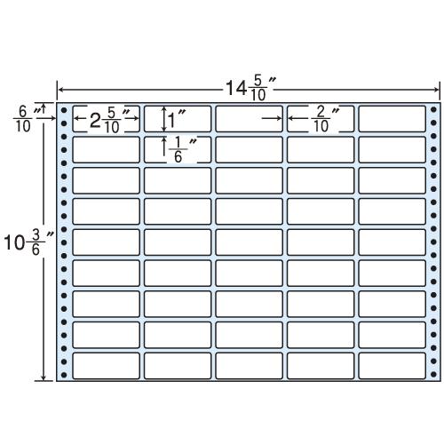 東洋印刷 タックシール nana レギュラータイプ (連続ラベル) 500折 MX14W