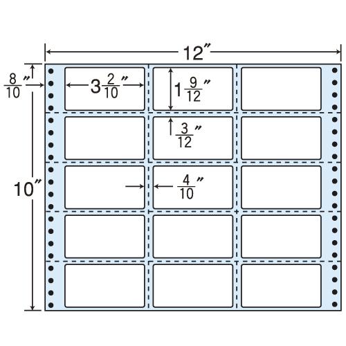 東洋印刷 タックシール nana レギュラータイプ (連続ラベル) 500折 MX12T