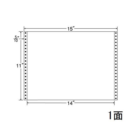 東洋印刷 タックシール nana レギュラータイプ (連続ラベル) 100折×5 MT15GS