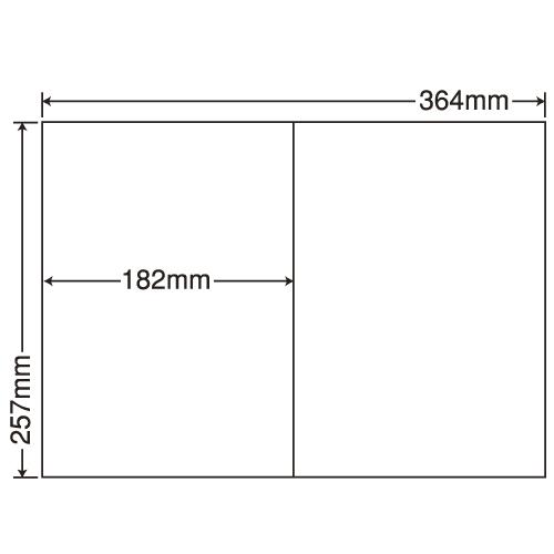 東洋印刷 ラベルシール nana 汎用タイプ B4 100シート×5 E2i