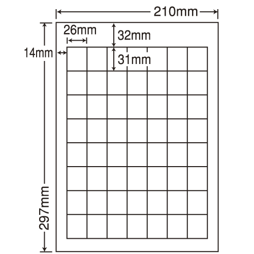 東洋印刷 ラベルシール nana カラーインクジェット用光沢 A4 80シート SCJ-36