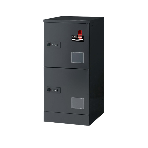 宅配用ロッカー 2段受領印付 JTB-L12SD