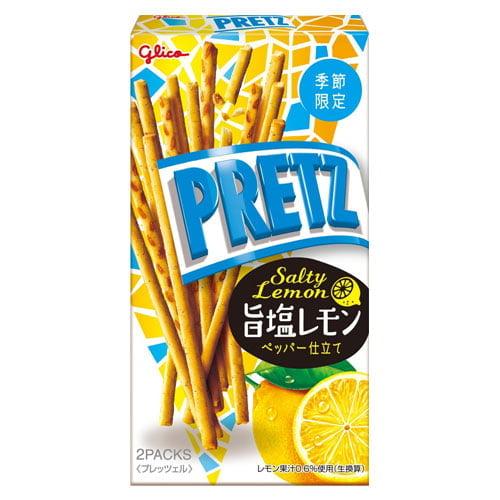 【賞味期限:22.05.31】グリコ プリッツ 旨塩レモン 62g
