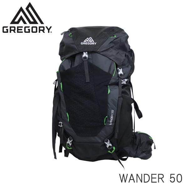 GREGORY グレゴリー バックパック WANDER ワンダー 50 50L シャドーブラック 1114740614