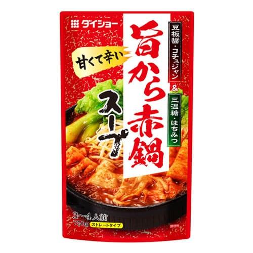 ダイショー 旨から赤鍋スープ 750g
