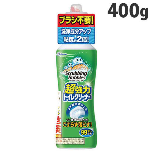 ジョンソン トイレ用洗剤 スクラビングバブル 強力トイレクリーナー 400g