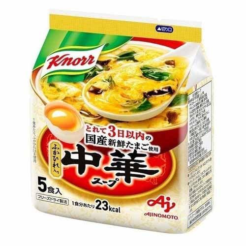 味の素 クノール 中華スープ 5食入