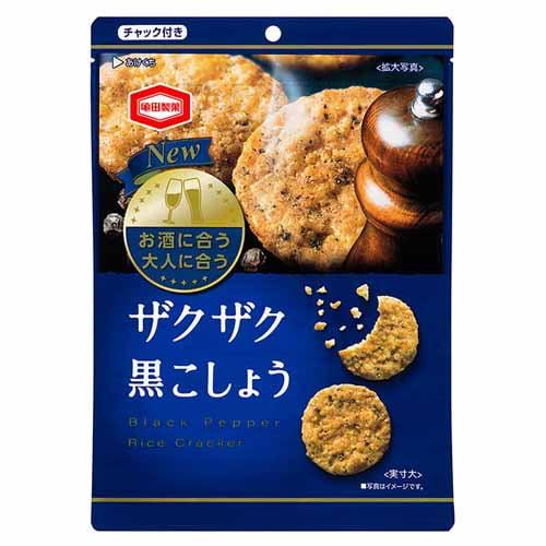 亀田製菓 ザクザク黒こしょう 105g