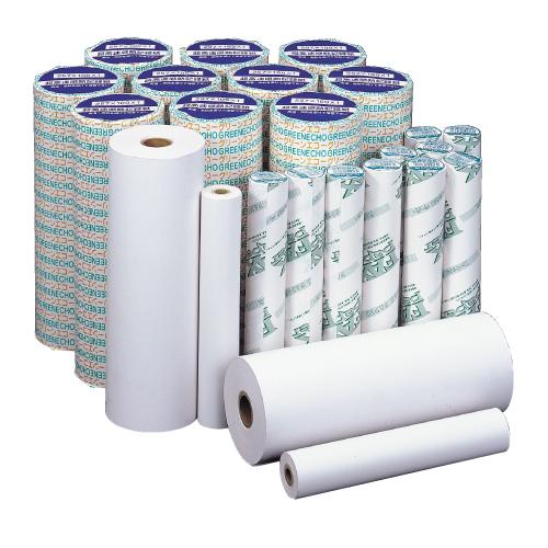 FAX用紙 グリーンエコー 210mm×100m×1インチ A4 6本