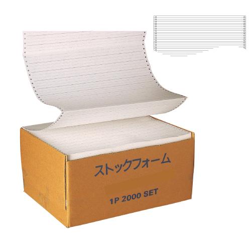 ストックフォーム 罫線 15×11 【030230】 2000枚