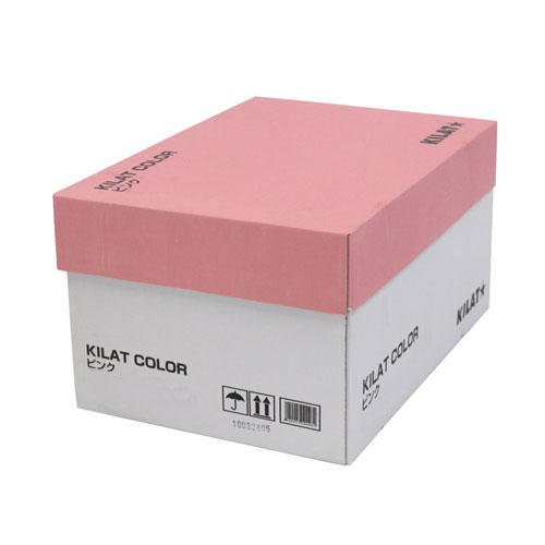 【送料無料】GRATES カラーコピー用紙 B4 ピンク 2500枚【他商品と同時購入不可】