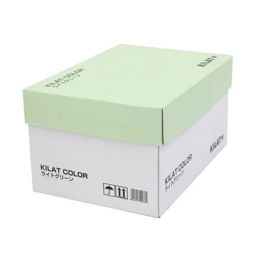 【送料無料】GRATES カラーコピー用紙 B4 ライトグリーン 2500枚【他商品と同時購入不可】