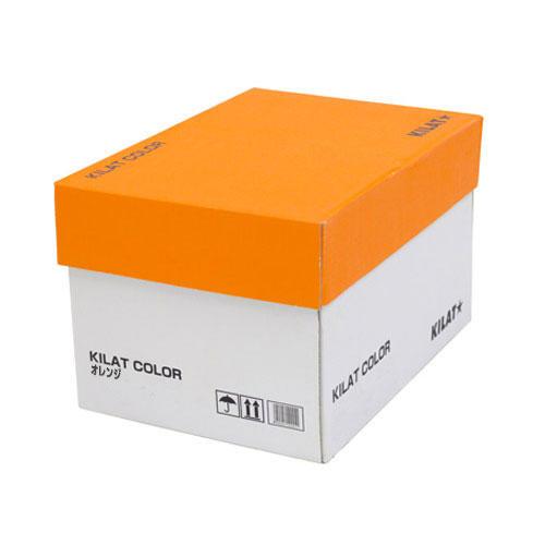 【送料無料】カラーコピー用紙 オレンジ B5 5000枚【他商品と同時購入不可】