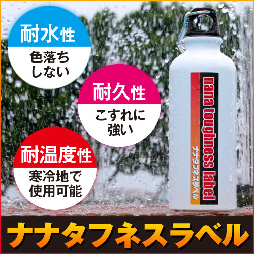 東洋印刷 カラーレーザー用フィルムラベル nana A4 100シート FCL-15