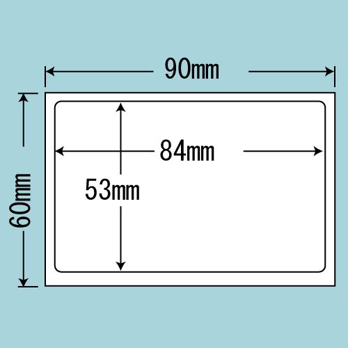 東洋印刷 目隠し情報保護ラベル nana 必要箇所タイプ 1000シート PPI-3
