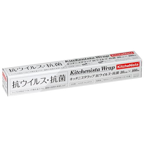 昭和電工 キッチニスタラップ 抗ウイルス・抗菌 30cm×100m