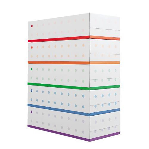 【送料無料】ボックスティッシュペーパー 200組 1パック(5箱) 12パック(60個)【他商品と同時購入不可】