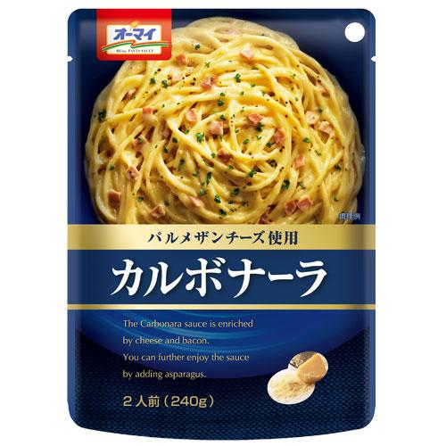 日本製粉 パスタソース オーマイ カルボナーラ 240g
