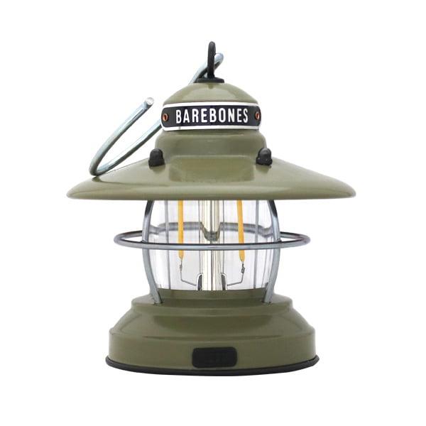 Barebones Living ベアボーンズ リビング Edison Mini Lantern ミニエジソンランタン LED Olive Drab オリーブドラブ