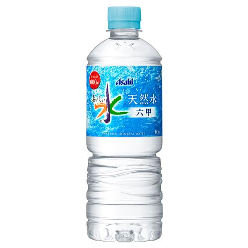 アサヒ飲料 おいしい水 六甲 600ml 24本