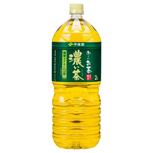 伊藤園 おーいお茶 濃い茶 2L 6本