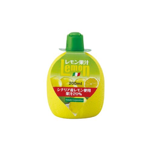 トマトコーポレーション レモン果汁20%(イタリア産) 200ml