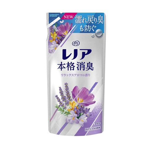 P&G 柔軟剤 レノア本格消臭 リラックスアロマ 詰替 420ml×3個