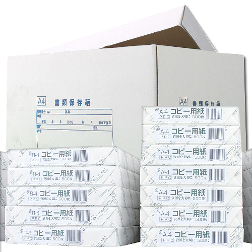 【送料無料】コピー用紙 スーパーエコー A4 5000枚【他商品と同時購入不可】