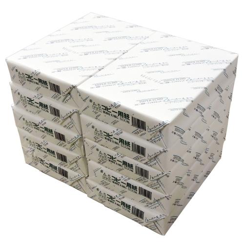 【送料無料】コピー用紙 スーパーエコー A5 5000枚【他商品と同時購入不可】