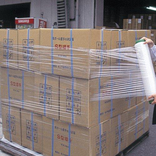 GRATES ストレッチフィルム 厚さ8ミクロン 500mm×450m 1本