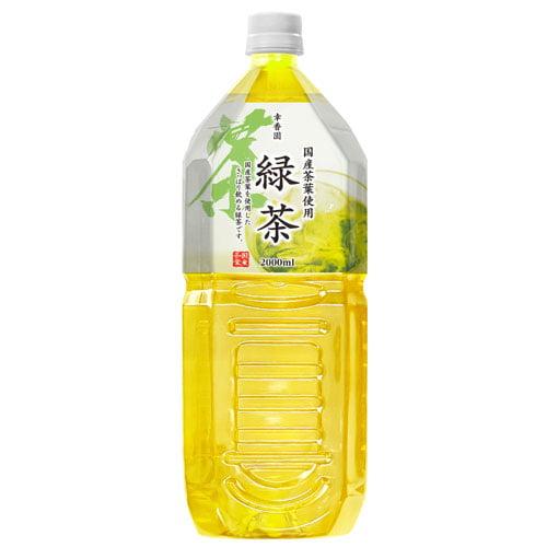 緑茶 国産品 2L 3本