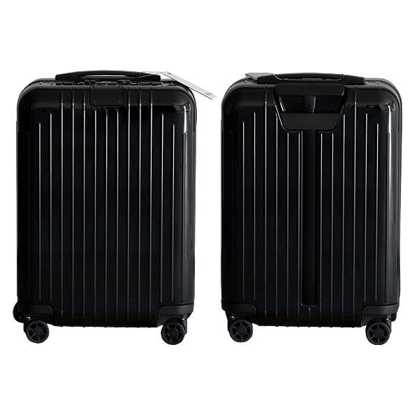 リモワ RIMOWA スーツケース エッセンシャル ライト キャビン 37L グロスブラック ESSENTIAL Cabin 823.53.62.4