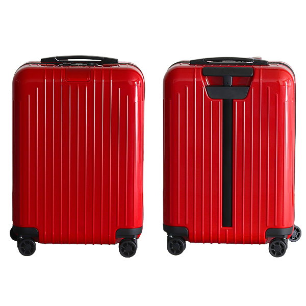 リモワ RIMOWA スーツケース エッセンシャル ライト キャビン 37L グロスレッド ESSENTIAL Cabin 823.53.65.4