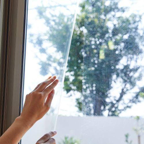 ニトムズ ガラス飛散防止テープ 幅200mm×長さ8.2m M6440