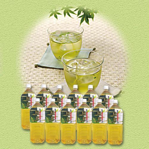 緑茶 国産品 2L 6本