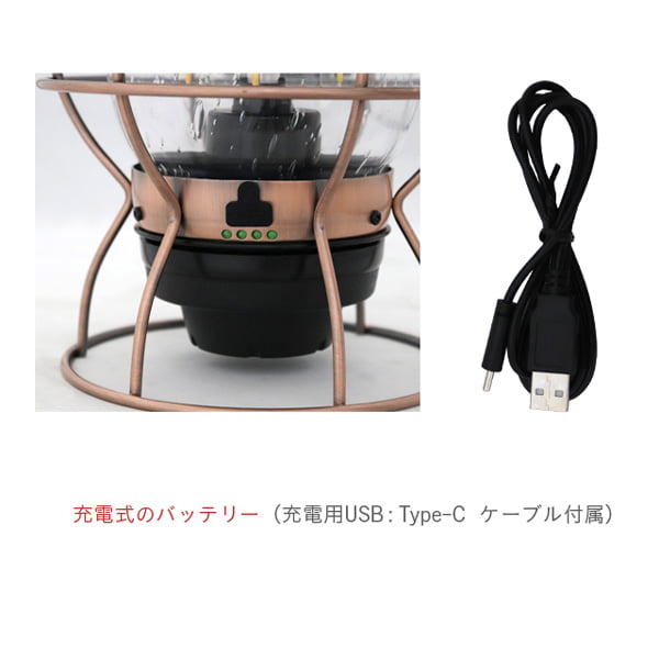 Barebones Living ベアボーンズ リビング Railroad Lantern レイルロードランタン LED Slate Gray スレートグレー