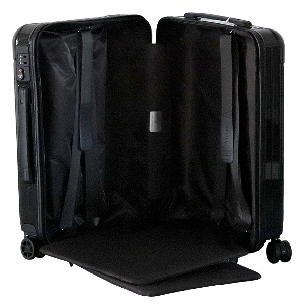 RIMOWA スーツケース エッセンシャル キャビンS 34L グロスブラック ESSENTIAL Cabin S 832.52.62.4