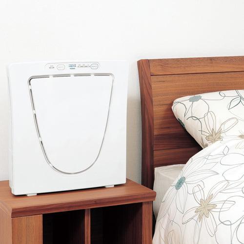 ツインバード 空気清浄機 ファンディファイン ヘパ 12畳用 ホワイト AC-4238W