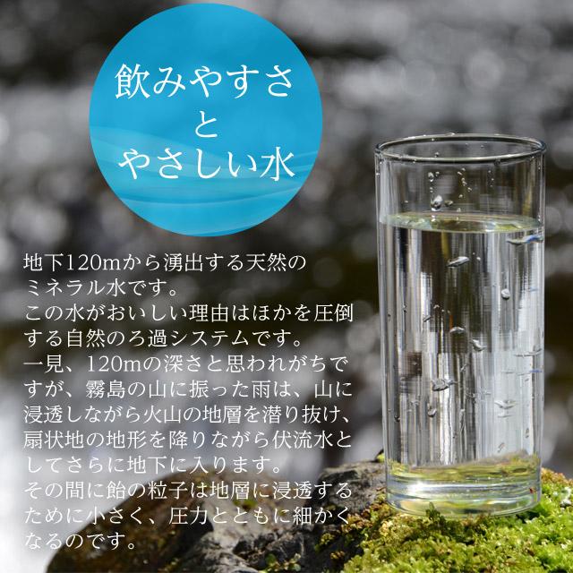 霧島 天然水 2L×6本