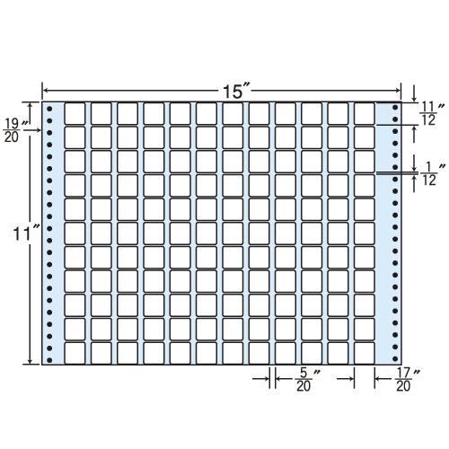 東洋印刷 タックシール nana レギュラータイプ (連続ラベル) 500折 MX15S: