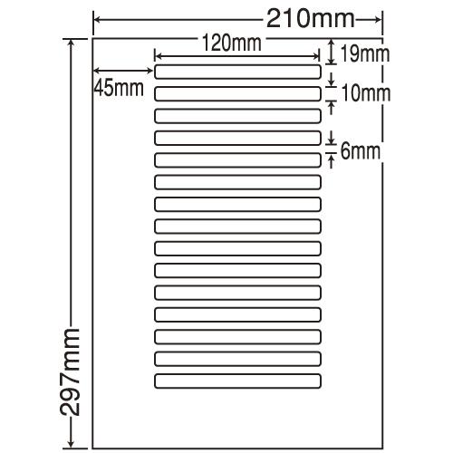 東洋印刷 ラベルシール nana 汎用タイプ A4 500シート LDW15OB: