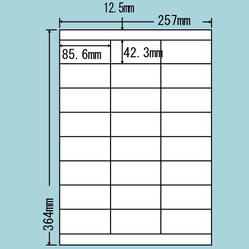 東洋印刷 ラベルシール nana 再剥離タイプ B4 500シート LEZ24UF: