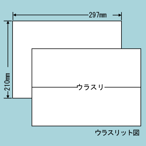 東洋印刷 ラベルシール nana 再剥離タイプ A4 100シート×5 C1ZF: