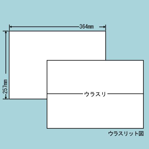 東洋印刷 ラベルシール nana 再剥離タイプ B4 100シート×5 E1ZF: