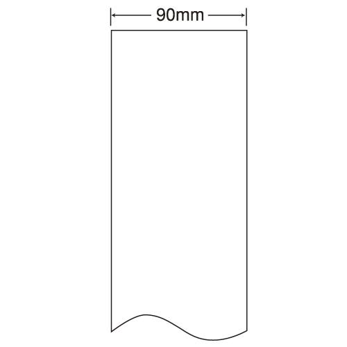 東洋印刷 nana 感熱ロールラベルシール(医療機関向け) 90mm 4巻 THR-3H: