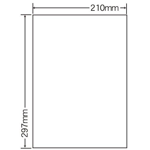 東洋印刷 レーザープリンタ用ラベル nana 光沢紙タイプ A4 400シート SCL-7: