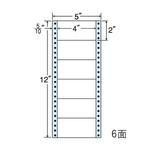 東洋印刷 ラベルシール nana レギュラータイプ 500折×2 MM5A: